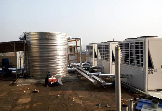 Sanxin Medical 3600m2 Heating Project