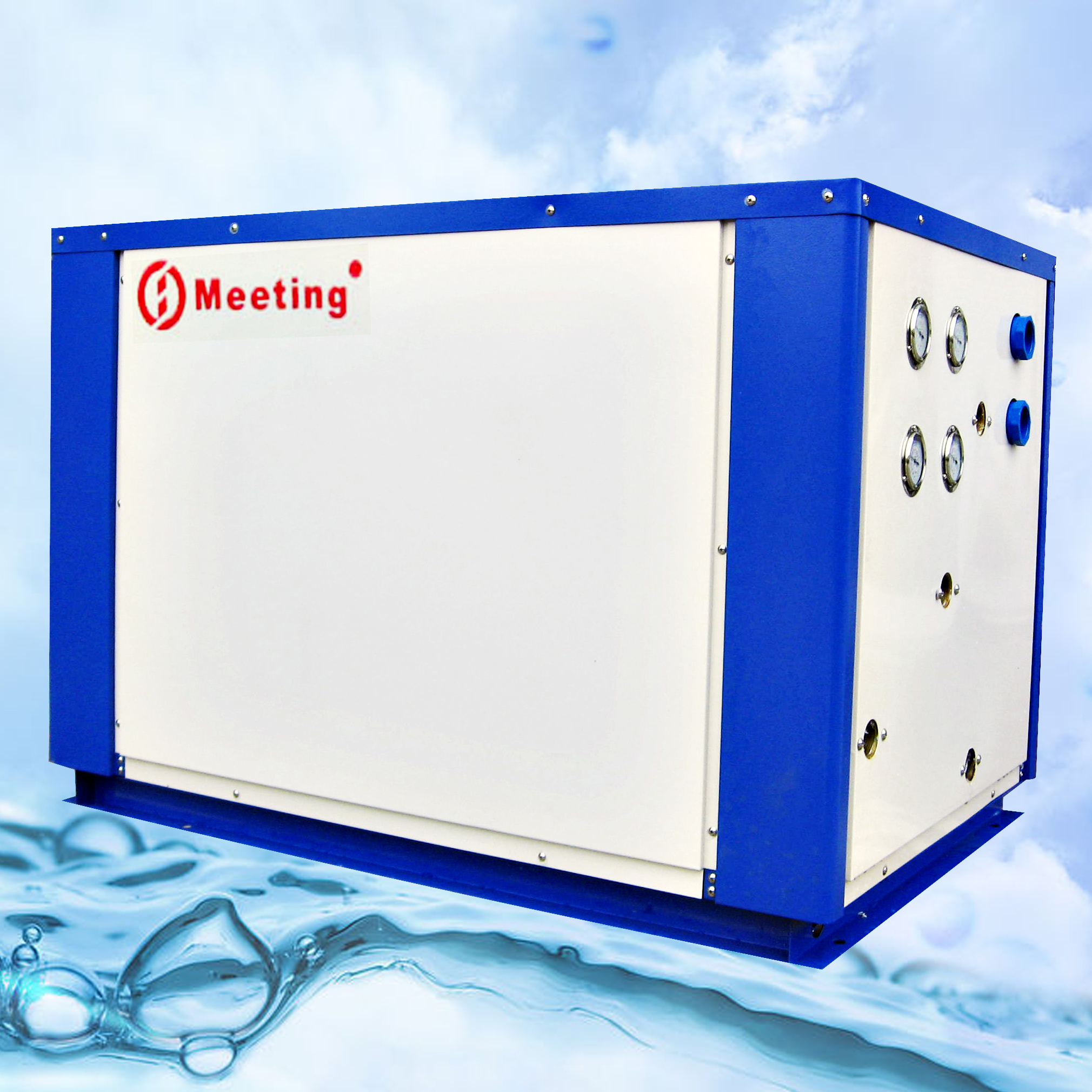MDS100D  Water source trinity heat pump
