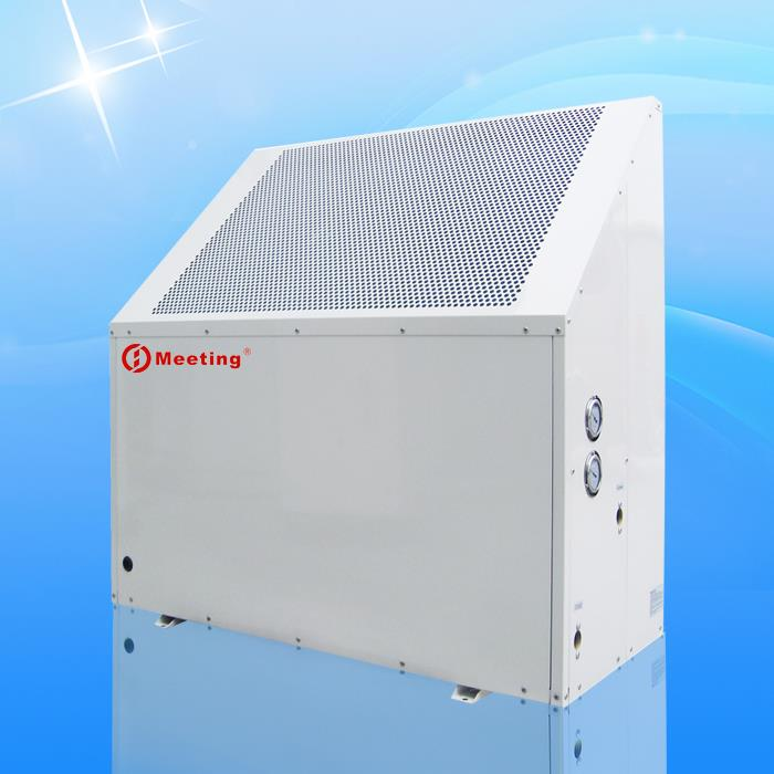 Center air conditioning and hot water all in one Super low noise heat pump R410A